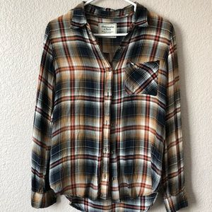 Abercrombie & Fitch flowy button down shirt
